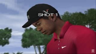 Tiger Woods PGA Tour 10 PS2 Gameplay HD