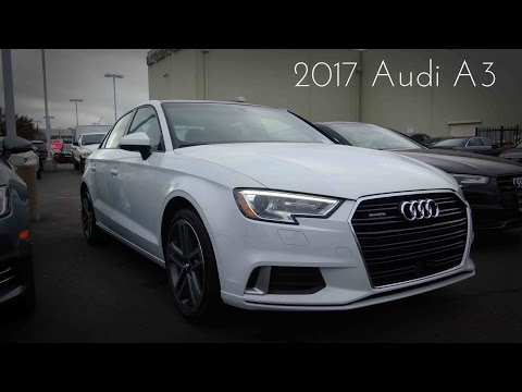 2017 Audi A3 S-Line 2.0 L Turbocharged 4-Cylinder Review