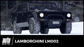 Lamborghini LM002 : essai exclusif