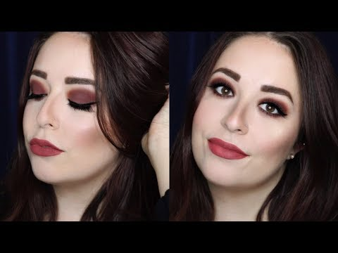 ONE EYESHADOW FALL GRUNGE MAKEUP TUTORIAL