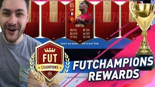 FIFA 19 - OMG WE PACKED 85 IF MARTIAL + 3 IFS IN THE 100K PACK - FUTCHAMPIONS REWARDS INSANE LUCK