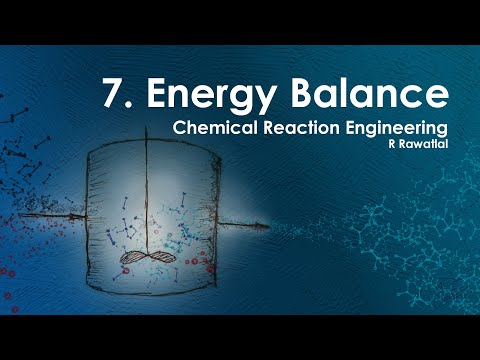 Reactor Engineering - 07 Energy Balance