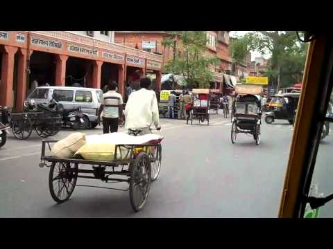 On the streets of Jaipur, India (long version)
