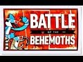 Regular Show Battle of The Behemoths - Cartoon Network Oyunları
