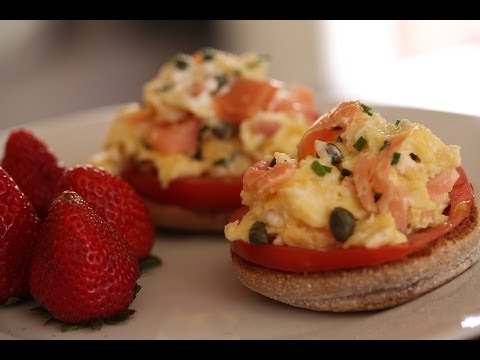 Kelly's Smoked Salmon Scramble