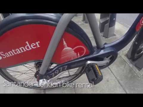 How to rent a bike in London. Santander London City Cycle System Docufeel | Travel | HD | England