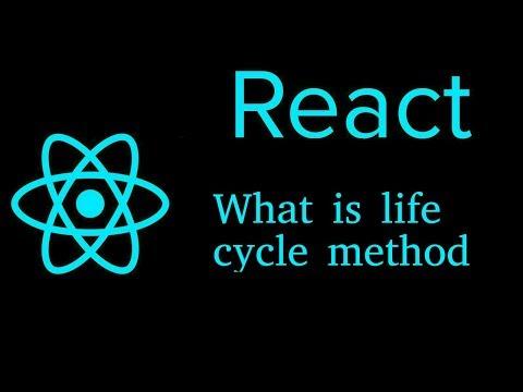 React js Hindi Tutorial #16 What is life cycle method thumbnail