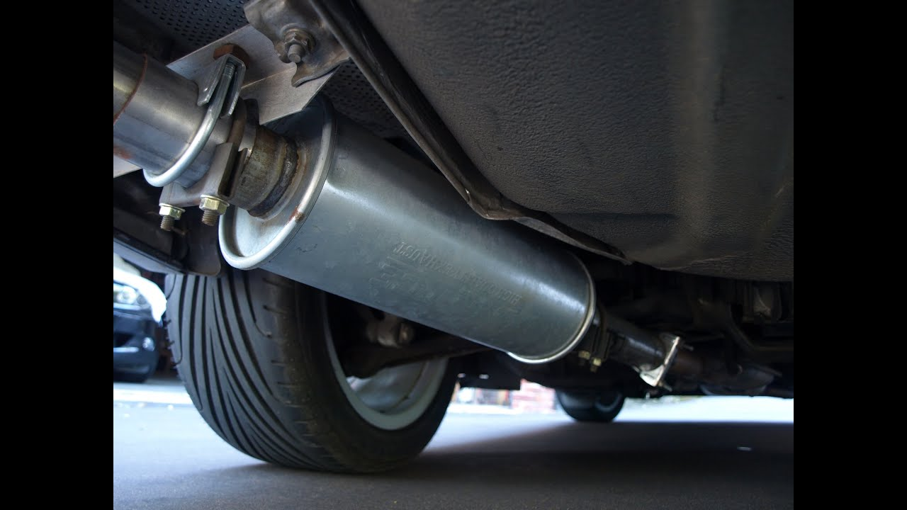 Bmw E36 318is Custom Performance Exhaust System Start Up