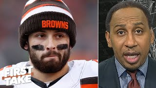 Baker Mayfield is not blameless in the Browns firing Freddie Kitchens - Stephen A. | First Take