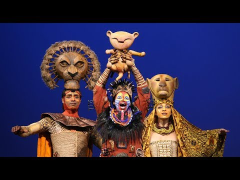 The Lion King Broadway Cast - The Circle of Life (with lyrics!)