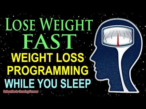 Lose Weight While You SLEEP Weight Loss Affirmations For A Thin And Healthy Body Mind Power!