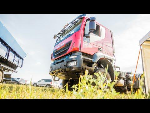 Обзор нового Iveco Trakker 6x6 #trialtrucks