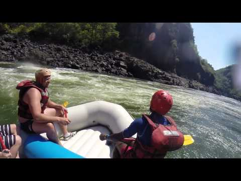 White Water Rafting, Vic Falls. Zimbabwe