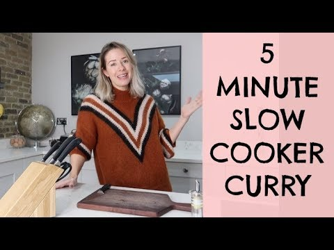 5 MINUTE SLOW COOKER CURRY | EASY CHICKEN CURRY | KERRY WHELPDALE