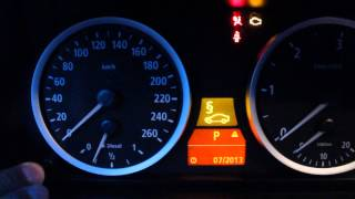 BMW Е60. Сброс Сервиса Тормозных Колодок БМВ После их Замены(, 2013-07-16T13:39:53.000Z)
