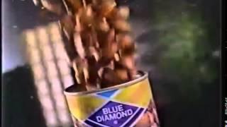 Comercial Almendras Blue Diamond 1991 (méxico)