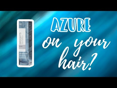 Ion Azure Hair Level Swatches Youtube