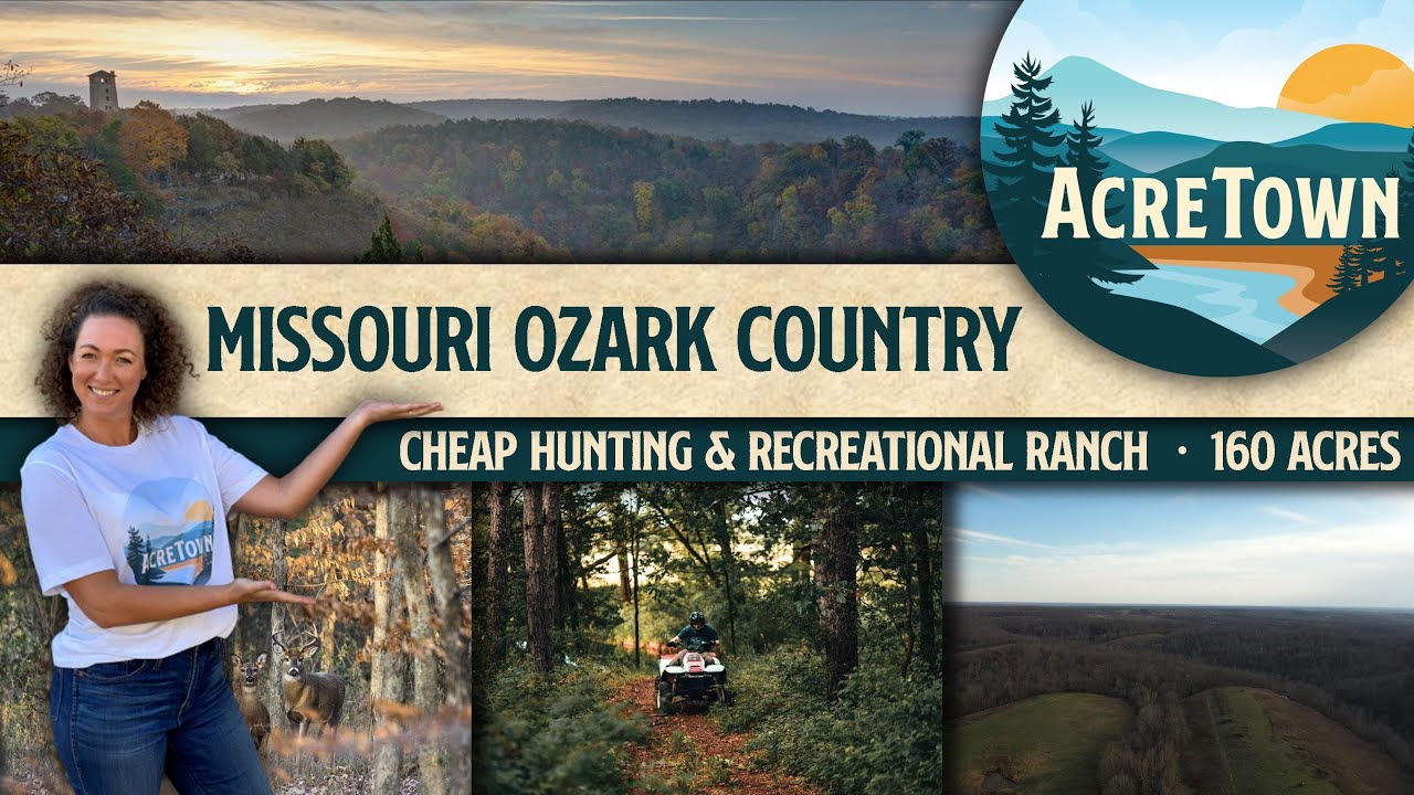 Sprawling Missouri Ozark Hunting & Recreational Ranch | No Restrictions | Priced 40% Below Market