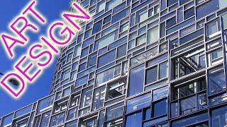 """ジャン・ヌーベル NYの集合住宅 """"a vision machine"""" 100 Eleventh Avenue in NY Jean Nouve"""