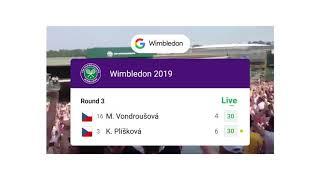 Live Sports Scores: Wimbledon