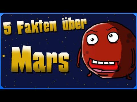 Astro-Comics - 5 Fakten über Mars