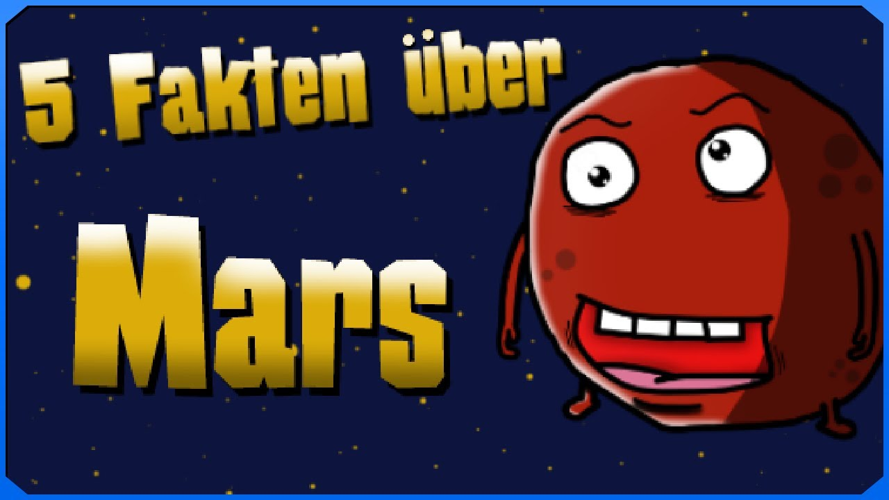 5 Fakten über den Mars