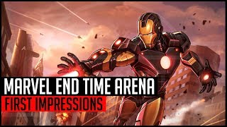 Marvel End Time Arena - First Impressions