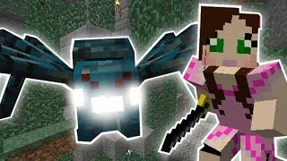 Minecraft Mods Challenge - THE MUTANT SPIDER CAVE MISSION! S8E59