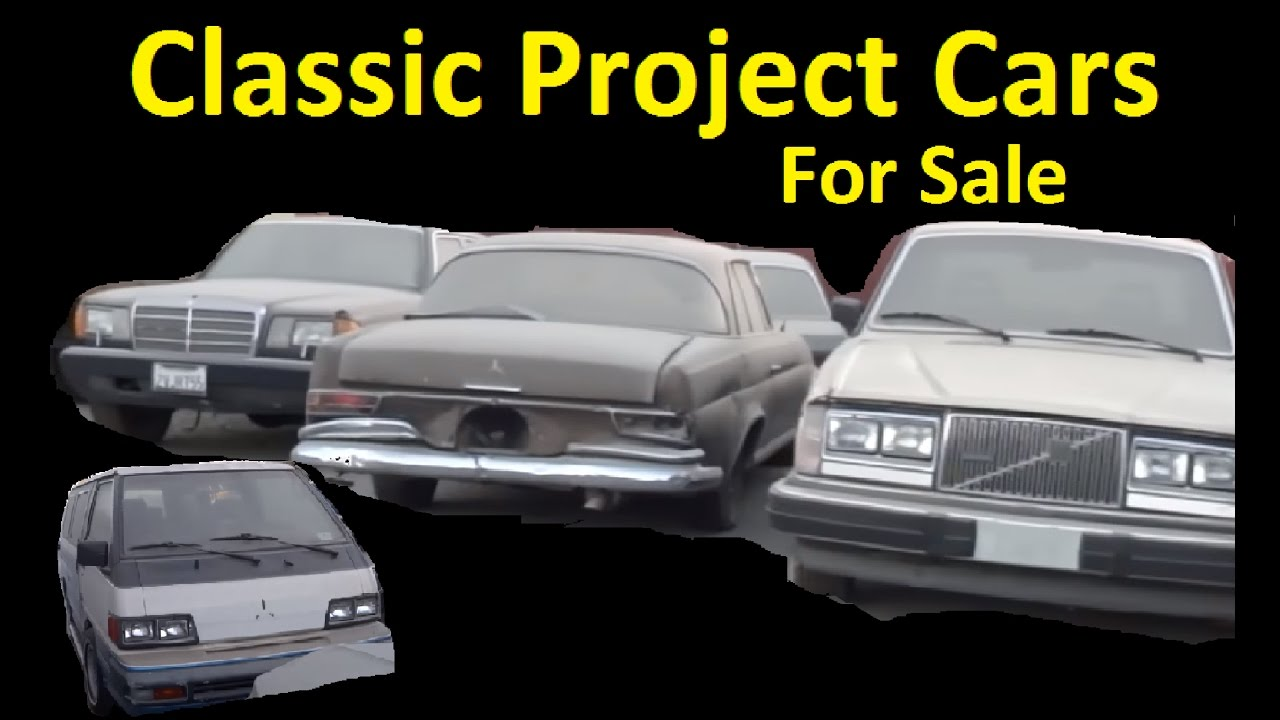 Classic Project Car Barn Find Storage Clearance Cars For Sale Video ...