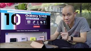 Đặt hàng Galaxy S10 trên Tiki