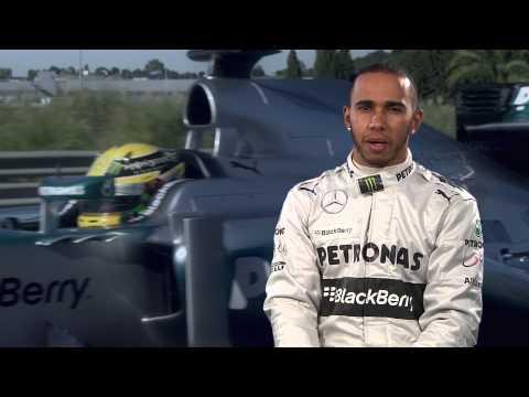 F1 2013 - Mercedes AMG - Hamilton & Rosberg Explain KERS, The Hybrid Boost In Formula 1