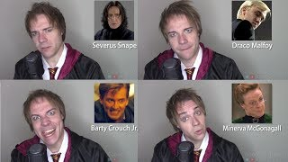 HARRY POTTER IMPRESSIONS! (Hagrid, Draco, Snape, Harry, McGonagall)