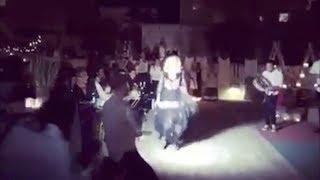 Madonna, festa di compleanno in Puglia a suon di pizzica