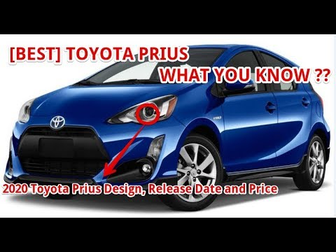 Best 2020 Toyota Prius Design Release Date And Price