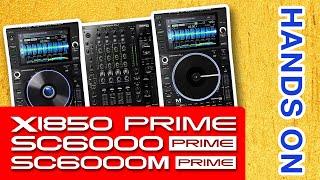 Hands On Denon DJ SC 6000 / M X1850 Prime mit Frank Hahn | Mixcon