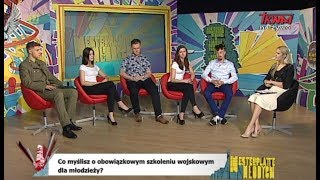 Westerplatte Młodych: Młodzi wobec armii (24.05.2019)