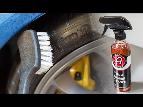 Wheel/Tire Product Series: E5 - Adam's Tire & Rubber Cleaner