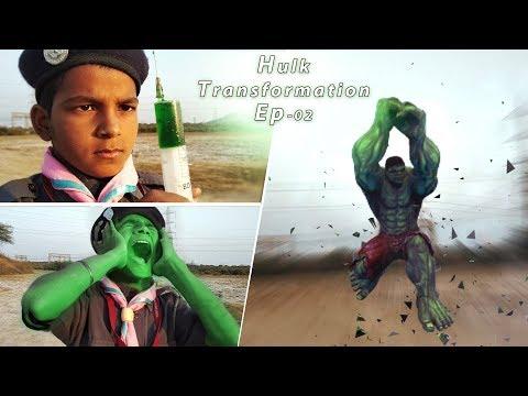The Hulk Transformation Episode-02 | Hulk Smash | Film VFX Test
