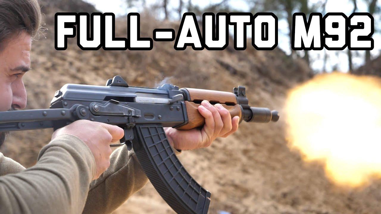 AK with a bolt stop device | Zastava M70 A