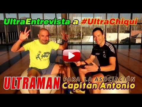 Ultra Tri Motril 2018: Entrevista ChiquiChurri, Capitán Antonio. Ultraman
