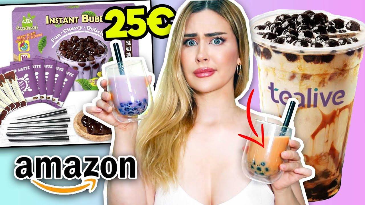 COMPRÉ UN KIT PARA HACER BUBBLE TEA EN CASA DE AMAZON POR 20€ ¿Vale la pena?