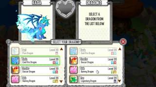 How to Breed CRYSTAL DRAGON Easy in Dragon City on Facebook Coolfire and Soccer Dragon