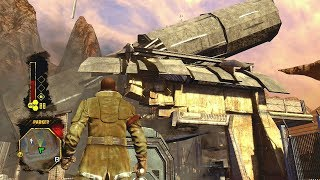 Red Faction Guerilla Remastered: Epic Destruction - Ambush Chaos & Outpost Clearing - Xbox One X