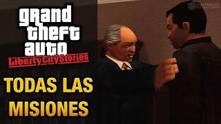 GTA: Liberty City Stories - Todas las misiones (Juego completo/Película)