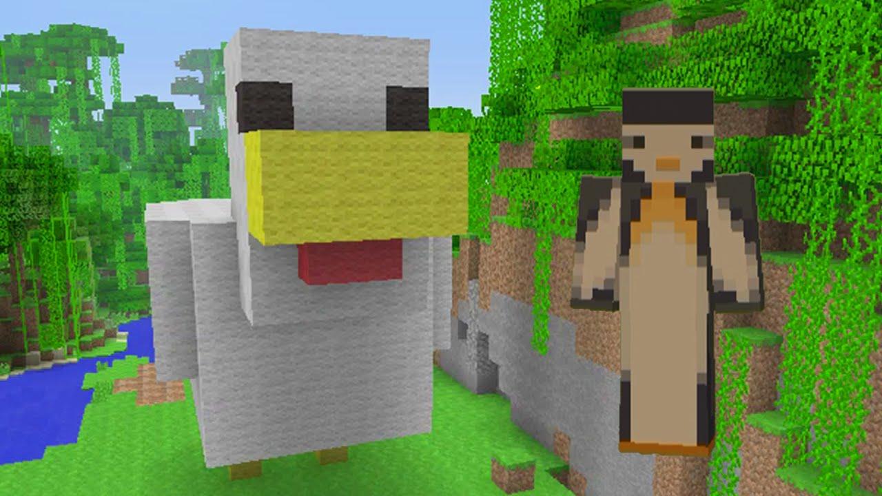 Minecraft Xbox: Chicken Statue [96] - YouTube