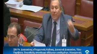Παρέμβαση Αντώνη Μακρή, Προέδρου ΣΕΛΠΕ στην Επιτροπή της Βουλής για τον Πτωχευτικό Κώδικα – Β
