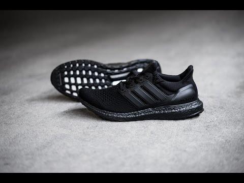 6fbd6eac38050 Shoe Review - HAVEN x adidas Ultra Boost  Triple Black  - YouTube