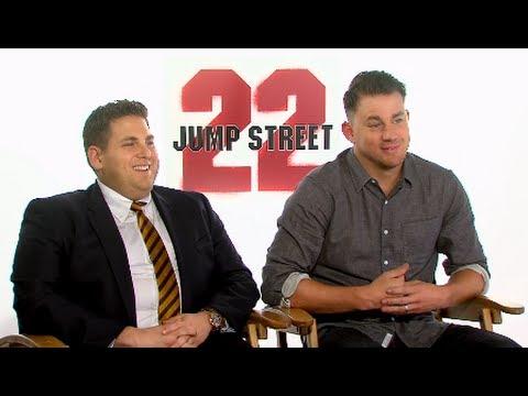 22 JUMP STREET - Channing Tatum & Jonah Hill Interview