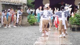 いくたま夏祭 本宮 行宮祭(本町橋) 獅子踊り
