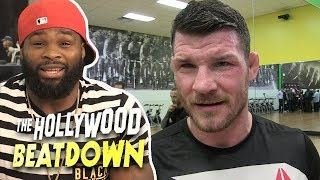 Tyron Woodley Wants To Step In For Michael Bisping in UFC 217 | The Hollywood Beatdown